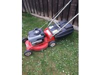 rover petrol push lawnmower
