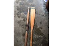 Antique wooden oars for sale
