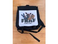FNAF game rucksack - Black Fabric + Logo £ 4