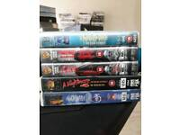 Nightmare on elm street vhs video collection