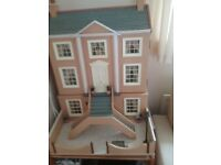 Euphorium Dolls House complete with furniture and fittings