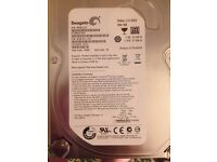 2 500 gb hard-disk sata Drive seagate 3.5 hdd £20 for to or £10 each good con