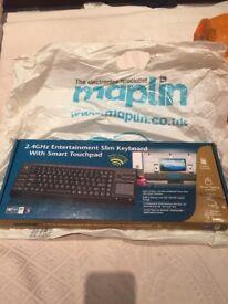 Brand new in box wireless keyboard