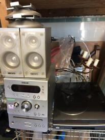 Radio.tape.record and cd player