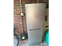 Beko fridge freezer silver £90