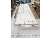 WHITE SLIM SINGLE PANEL RADIATOR 1800MM X 510MM RRP £1299