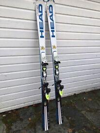 Head Supershape I-Titan skis and Head freeflex Pro Bindings