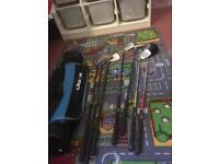 Golf bag & clubs for junior golf set