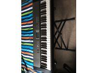 CASIO LK-120 keylighting keyboard & stand