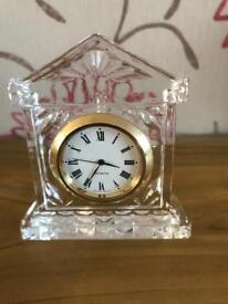 Glass/Crystal??.. miniature mantle clock