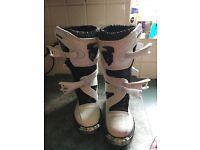 Kids motorbike/ quad/ scrambler boots