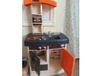 Kids toy kitchen and extras