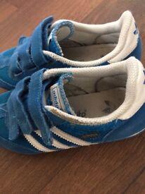 Adidas size 12 dragon trainers