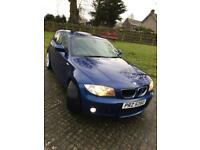 BMW 1 SERIES M Sport 2009 Blue 5 doors front and rear sensors