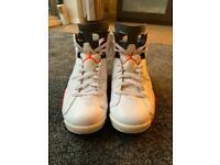 Men's air Jordan 6 infrared white (2014) size 8.5
