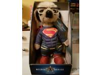 Sergei As Superman Meercat Toy