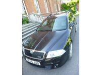 Skoda Octavia VRS 2.0tfsi petrol black estate 200hp