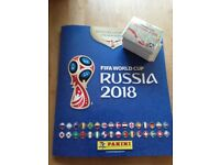 Panini World Cup Russia 2018 Stickers to swap
