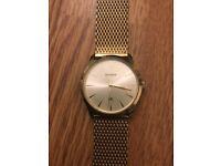 Sekonda Gold Unisex Watch - £20 ONO