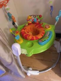 Baby jumping seat