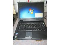 Toshiba Tecra A5 windows 7 laptop