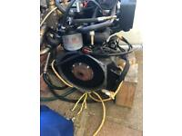 Lombardini LDW 702 boat engine 20 hp with sail drive