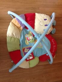 Baby gym & bouncer chair