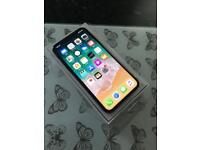Apple iphone X brand new on 02 64GB Space Grey £795