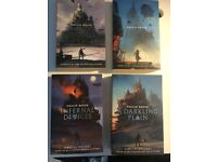 'The Mortal Engines' quartet by Philip Reeve