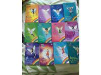 12 Rainbow magic fairy books