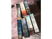 1-7 game of thrones books