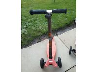 Scooter cost £103when new