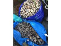Pebbles ideal for garden landscaping