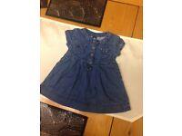 Baby girl designer Zara dress 3-6m