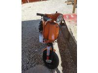 vespa custom 235cc