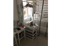 Ikea wardrobe/drawers/hanging rail