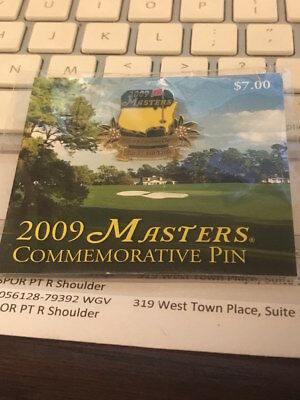 2009 MASTERS TOURNAMENT COMMEMORATIVE PIN - #9 Carolina Cherry NEW In PACKAGE!