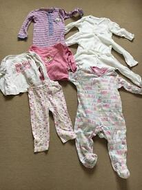 Girls 12-18 months pj's and sleep grows
