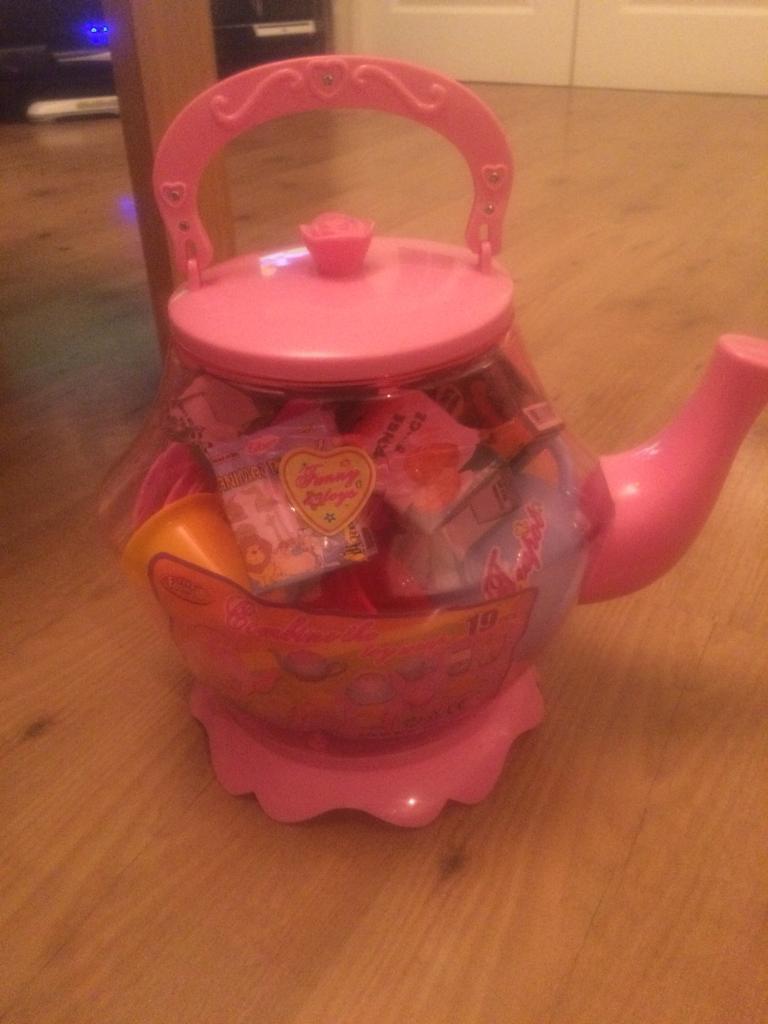 Kids 19 piece Teapot Set