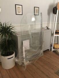 NEW Victorian Plumbing bath screen