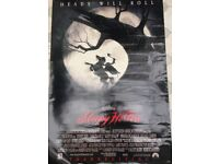 Film poster - Sleepy Hollow
