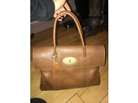 Mulberry Bayswater tan colour