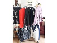 Assorted jackets size Large - buyer to collect