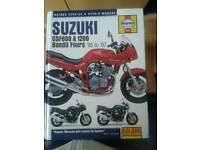 Suzuki bandit haynes manual and bits.