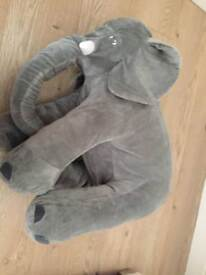 Elephant cushion for baby