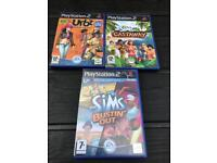 PlayStation 2 the sims games. Ps2