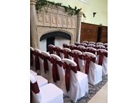 Chair Covers with Sash ( Wedding, Party )