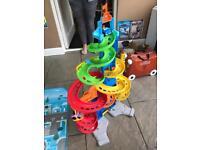 Kids toy car slide