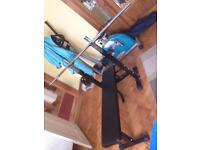 Bench Press and Free Weights £90 ONO