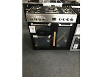 Leisure 90cm cuisinemaster dual fuel new no box 12 month gtee